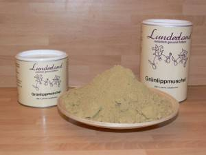 Grünlippmuschelpulver - Lunderland