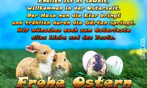 Wir wünschen allen Kunden und Freunden ein schönes Osterfest