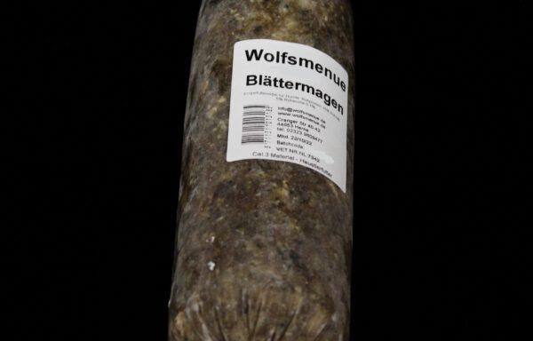 Wolfsmenue Blättermagen