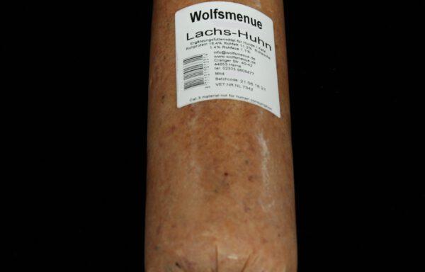 Wolfsmenue Lachs / Huhn