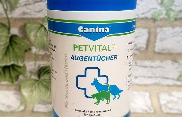Canina Petvital Augentücher