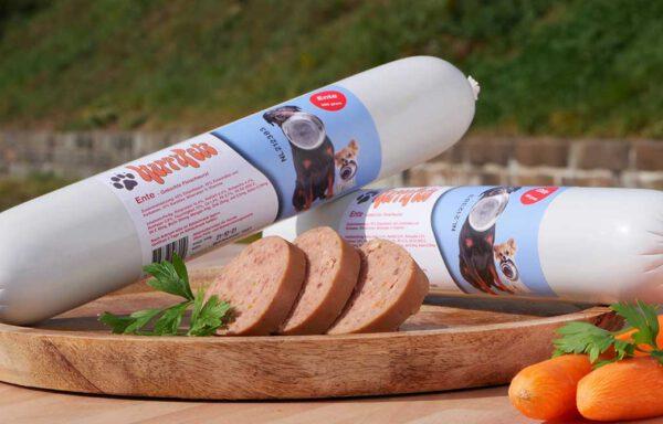 HappyPets Much Ente und Karotte gekocht 500g